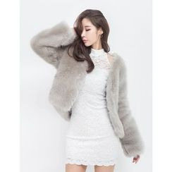 GUMZZI - Faux-Fur Jacket