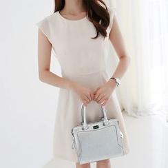 CLICK - Chiffon A-Line Dress