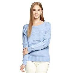 O.SA - Bow-Accent Sweater