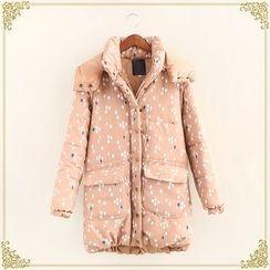 Fairyland - Printed Hooded Padded Coat