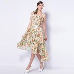 O.SA - Floral Ruffled Sundress