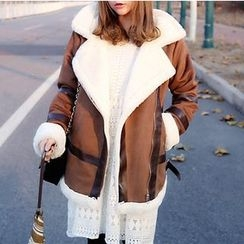 YUKISHU - Furry Trim Jacket