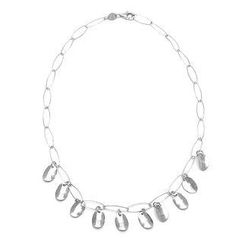 Bellini - Floating Snow Necklace