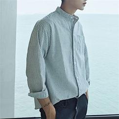 Arthur Look - 条纹立领衬衫
