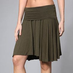 Almaz.C Lifestyle - Yoked Shirred Skirt