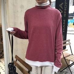 Dute - 假兩件套衫