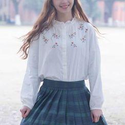 Moricode - 刺绣衬衫