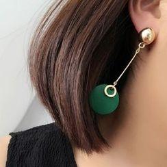 Ciroki - 木製不對稱耳飾