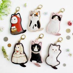 Full House - Cat Keychain