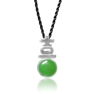 ZN Concept - Jade Pendant with Silk Cord