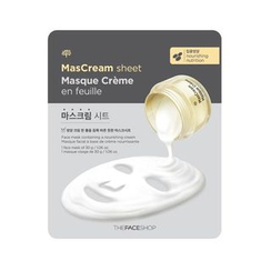 The Face Shop - MasCream Sheet - Nourishing & Nutrition 30g