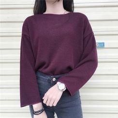 Cloud Nine - Plain Knit Top