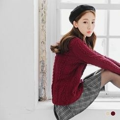 OrangeBear - Cable Knit Sweater