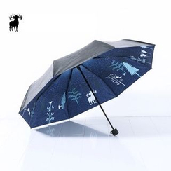 Cutie Bazaar - Printed Foldable UV Protection Umbrella