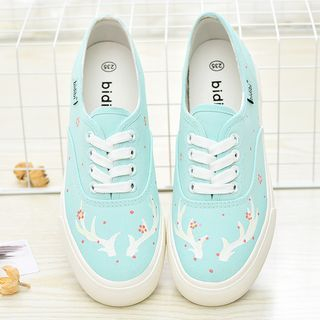 BUDING - Printed Lace Up Sneakers
