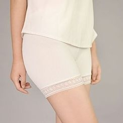 Fitight - Lace-Panel Boy Shorts