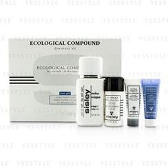 Sisley 希思黎 - Ecological Compound Discovery Kit:Ecological Compound Day and  Night 50ml, Global Perfect 10ml, Express Flower Gel 10ml...