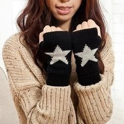 Damasco - Star Fingerless Gloves