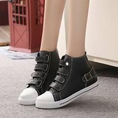 Yoflap - Velcro Hidden Wedge Sneakers