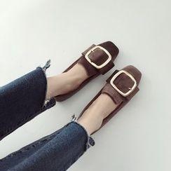 Linda Lane - 扣带平跟鞋