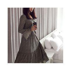 MASoeur - Patterned Tiered Maxi Dress