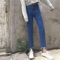 Kojasmine - 直筒牛仔褲