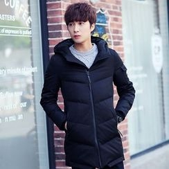 Chic Maison - Hooded Down Coat