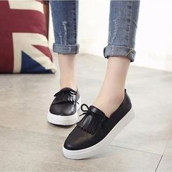 One100 - Fringed Loafers