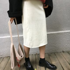 Alfie - 燈芯絨鉛筆裙