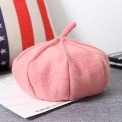 Milliner - 纯色贝雷帽