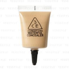 3 CONCEPT EYES - Waterful Concealer (#002 Soft Beige)