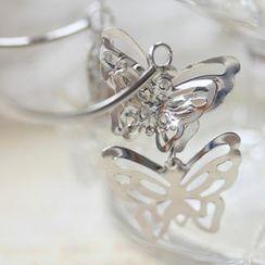Fit-to-Kill - 3D Butterfly Earrings