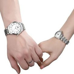 Periwinkle - Couple Matching Bracelet Watch