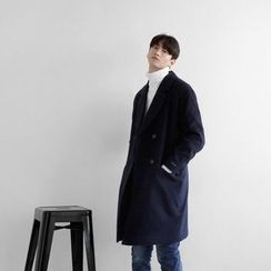 Seoul Homme - Colored Double-Breasted Coat