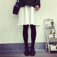 A7 SEVEN - 百褶吊帶裙
