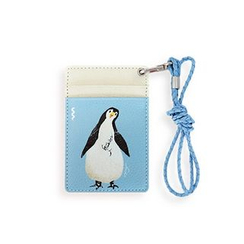 LIFE STORY - Animal Illustration Card Holder - Penguin
