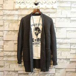 Sundipy - Open-Knit Cardigan