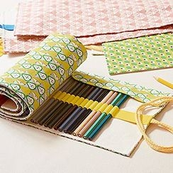 Cute Essentials - Printed Pen Roll Pencil Case