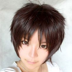 Ghost Cos Wigs - Attack on Titan Eren Yeager Cosplay Wig