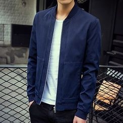 Evzen - Plain Bomber Jacket