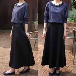 The Violet - A-Line Maxi Skirt