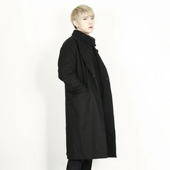Rememberclick - Wool-Blend Long Coat