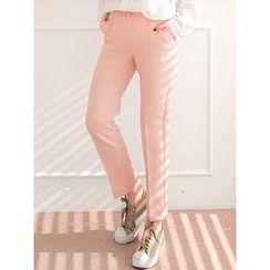 LOLOten - Flat-Front Dress Pants