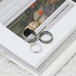 NANING9 - Set of 3: Metal Rings