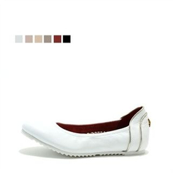 MODELSIS - Genuine Leather Piped Slip-Ons