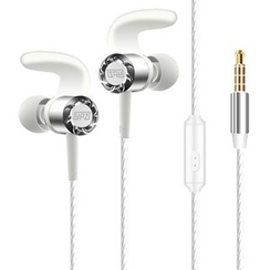 Argento - In-Ear Subwoofer Earphone with Mic