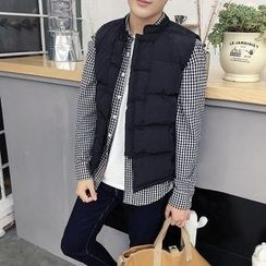 AOBIN - Embroidered Padded Vest