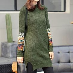 Marlene - Panel Knit Tunic
