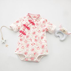 MOM Kiss - Baby Floral Print Bodysuit