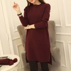 Yamster - Plain Knit Dress